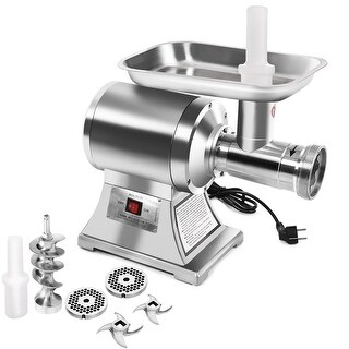 Gymax Commercial Grade 1HP Electric Meat Grinder 1100W Stainless Steel Heavy Duty #22