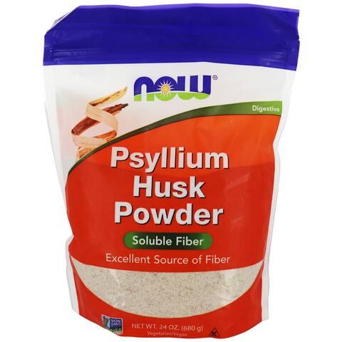 NOW Foods - Psyllium Husk Powder - 24 oz.
