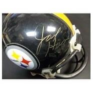 Signed Ham Jack Pittsburgh Steelers Replica Pittsburgh Steelers Mini Helmet Light Signature with so