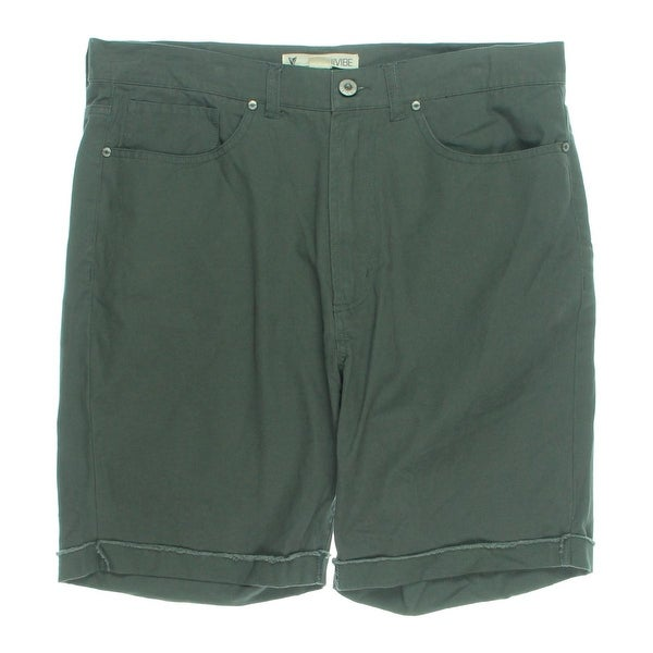 Univibe Mens Casual Shorts Cotton Twill