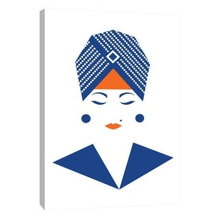 """PTM Images 9-105210  PTM Canvas Collection 10"""" x 8"""" - """"Lady in Turban"""" Giclee Women Art Print on Canvas"""