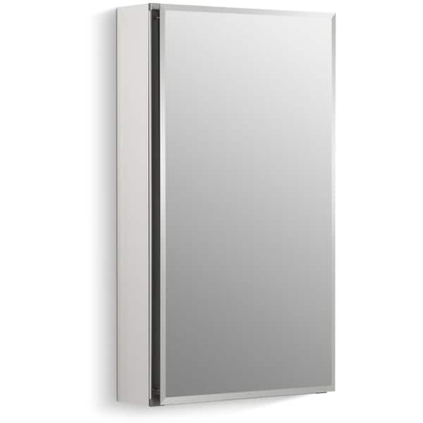 "Kohler K-CB-CLC1526FS 15"" x 26"" Single Door Reversible Hinge Frameless Mirrored Medicine Cabinet - N/A"