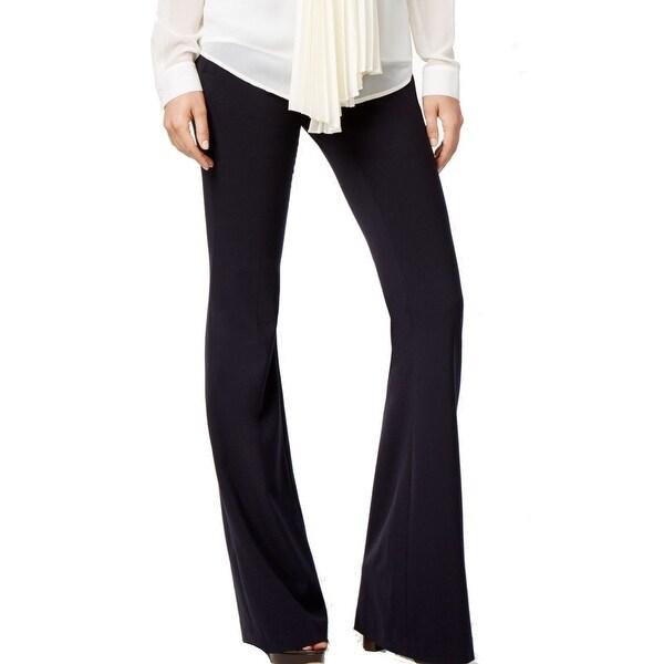 Shop Michael Kors New Solid Black Womens 2p Petite Flare Leg Dress