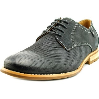 Steve Madden Capturr Men Round Toe Leather Oxford
