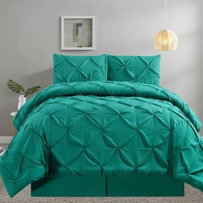 Shatex Kids 2 Piece Solid Color Comforter Set