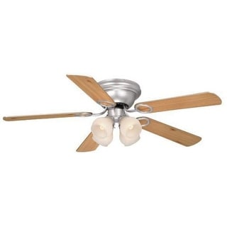 "Vaxcel Lighting FN52267-C Zephyr 52"" 5 Blade Indoor Ceiling Fan - Light Kit and Fan Blades Included"