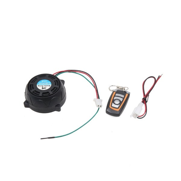 315MHz Round Motorcycle Remote Control Anti-theft Alarm Security Safety System