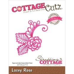"Lacey Rose; 2.5""X2.7"" - Cottagecutz Elites Die"