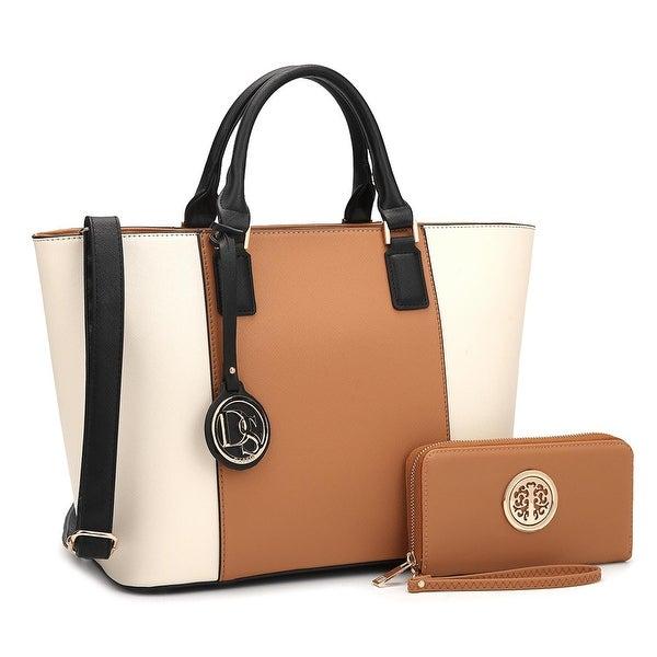 Dasein Women's Handbags Purses Large Tote Shoulder Bag Top Handle Satchel. Opens flyout.