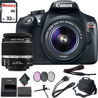 Canon Rebel T6 DSLR Camera & 18-55mm Lens Professional Combo