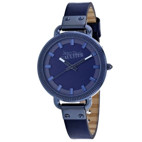 Jean Paul Gaultier Women's Index Blue Dial Watch - 8504313