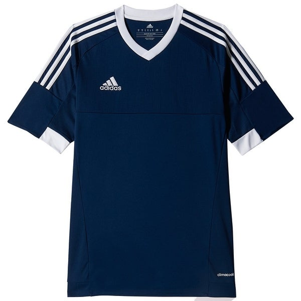 Adidas Boys Tiro 15 Jersey T-Shirt Bo Blue//White Size Youth