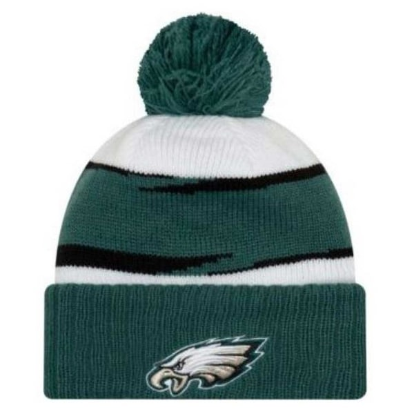 New Era 2018 NFL Philadelphia Eagles Thanksgiving Stocking Knit Hat Beanie  POM ce9dd6191d2e