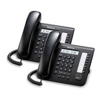 Panasonic KX-DT521-B (2 Pack) 8 Button 1-line Digital Telephone