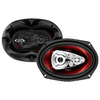 Boss Audio SK553 CH6950 600 Watt (Per Pair), 6 x 9 Inch, Full Range, 5 Way Car Speakers (Sold in Pairs)
