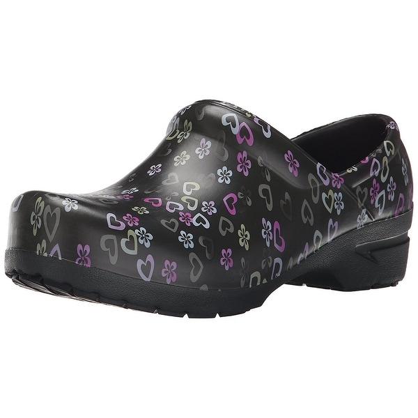 Cherokee Women's Anyware SRANGEL Closed Back Plastic Clog Nursing Shoe. Opens flyout.