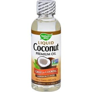 Nature's Way - Liquid Coconut Oil ( 1 - 10 FZ)