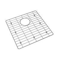 """Elkay GFOBG1717 16"""" L X 16"""" W Single Basin Nickel-Bearing Stainless Steel Bottom Grid - STAINLESS STEEL - N/A"""