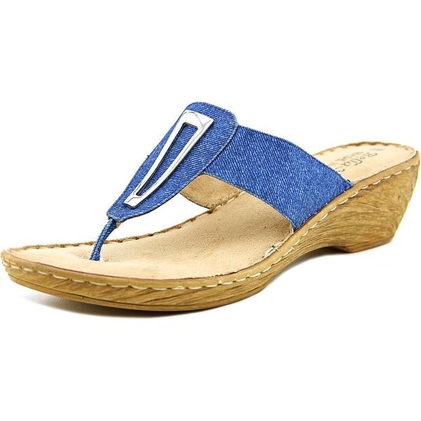 Bella Vita Sulmona Women W Open Toe Synthetic Wedge Sandal