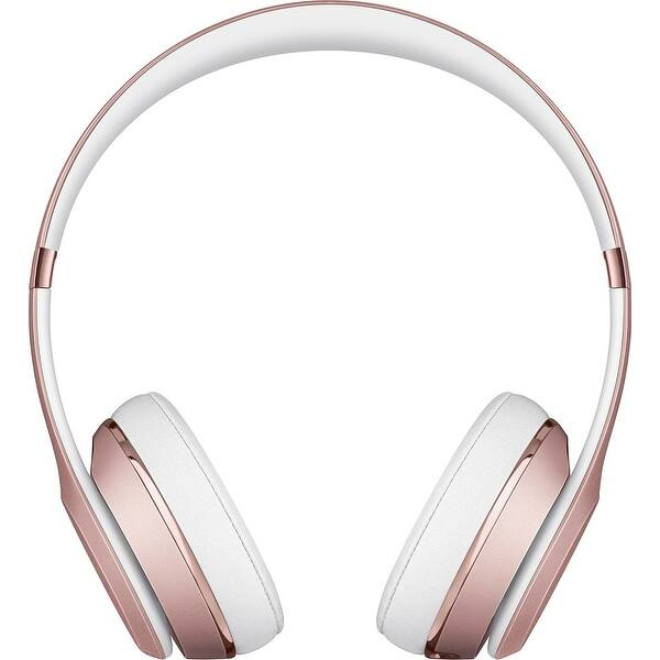 Shop Beats By Dr Dre Beats Solo 3 Wireless Headphones Rose Gold Overstock 18754771