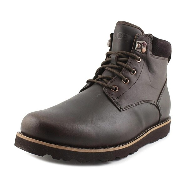Ugg Australia Seton Men Round Toe Leather Brown Boot