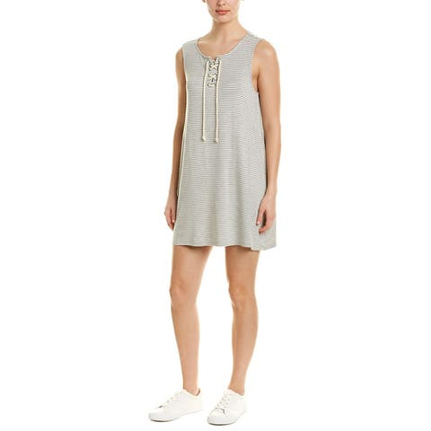 Cupcakes And Cashmere Dedrick Shift Dress - LIGHT HEATHER GREY