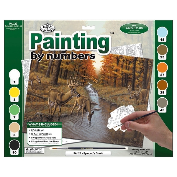 """Paint By Number Kit 15.375""""X11.25""""-Symond's Creek"""