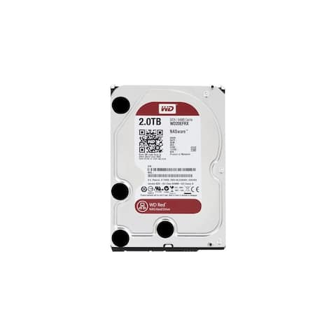 Western Digital 718037799667B WD Red 2 TB NAS Hard Drive: 3.5 Inch, SATA III, 64 MB Cache - WD20EFRX