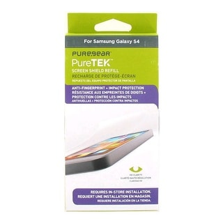 PureGear Puretek HD Anti Fingerprint Screen Protector for Samsung Galaxy S4