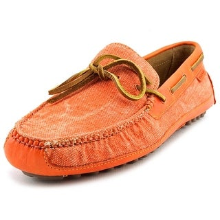 Cole Haan Grant Canoe. Camp. Moc Round Toe Canvas Loafer