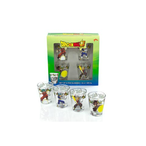 Dragon Ball Super Official Character Shot Glasses