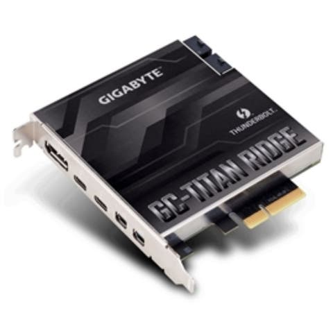 Gigabyte Accessory GC-TITAN RIDGE 40 Gb/s Thunderbolt3 Add-in Card Retail