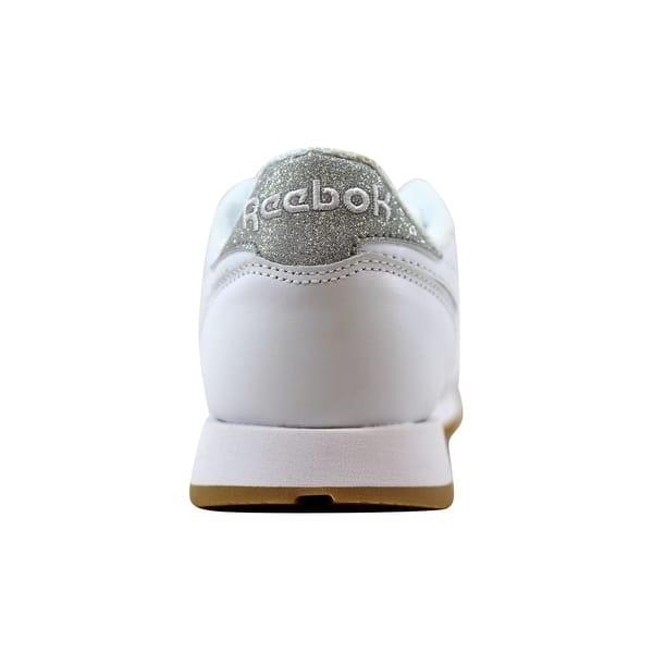 Composición fresa Frente a ti  Reebok Women's Classic Leather Met Diamon White/Gum BD4423 - Overstock -  22120047