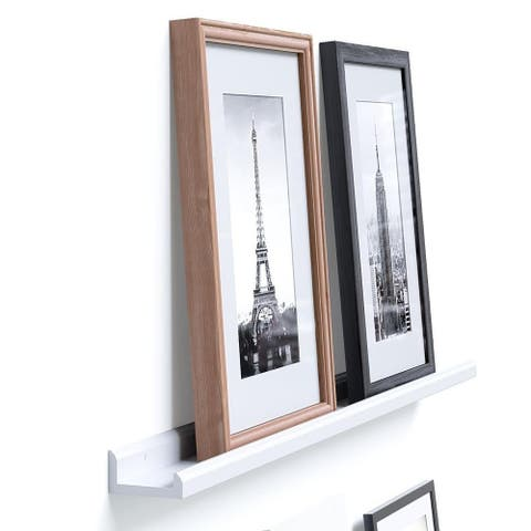 46'' Floating Picture Display Ledge Wall Mount Shelf