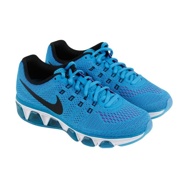 72bf23f1e97ca Nike Air Max Tailwind 8 Womens Blue Mesh Athletic Lace Up Running Shoes