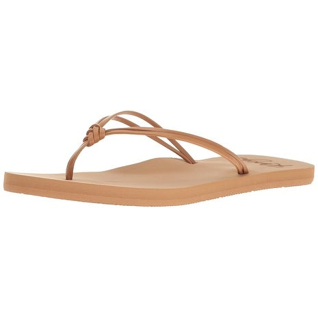9ba854cfd8f4 Shop Roxy Women s Lahaina Sandal Flip Flop - Free Shipping On Orders Over   45 - Overstock - 21621917