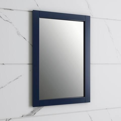 """Fresca Hartford 20"""" Traditional Bathroom Mirror in Royal Blue - 20"""