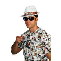 Charlie Sheen Costume Accessory Hat White