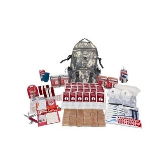 SKX2-Camo Backpack 2 Person Deluxe Survival Kit, Camo