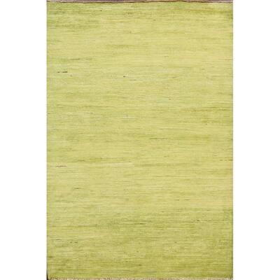 "Abstract Gabbeh Kashkoli Oriental Modern Wool Area Rug Handmade - 3'3"" x 4'8"""