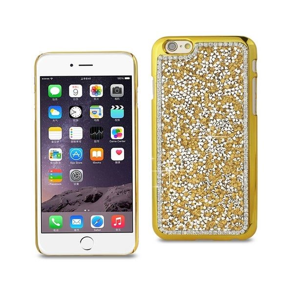 REIKO IPHONE 6S/ IPHONE 6 JEWELRY BLING RHINESTONE CASE IN GOLD