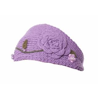 Premier Pansy Knit Winter Headband