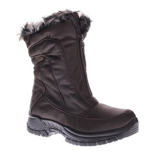Spring Step Women's Zigzag Snow Boot - Brown