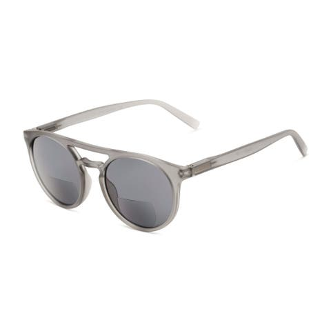 Readers.com The Moby Bifocal Reading Sunglasses Aviator Reading Glasses