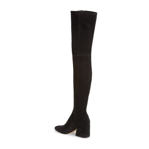 Dolce Vita Womens Vix Pointed Toe Over Knee Fashion Boots