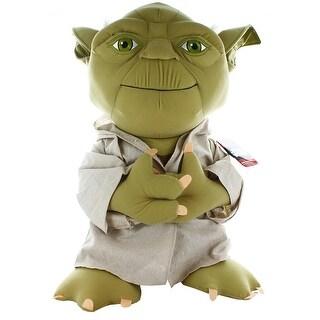 "Star Wars Super Deluxe 24"" Talking Plush: Yoda - multi"