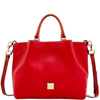 Dooney & Bourke Pebble Grain Large Barlow (Introduced by Dooney & Bourke at $348 in Aug 2017) - Red|https://ak1.ostkcdn.com/images/products/is/images/direct/89d89d50ead9a7b34adad3e78b34de883e5d3a86/Dooney-%26-Bourke-Pebble-Grain-Large-Barlow-%28Introduced-by-Dooney-%26-Bourke-at-%24348-in-Aug-2017%29.jpg?impolicy=medium