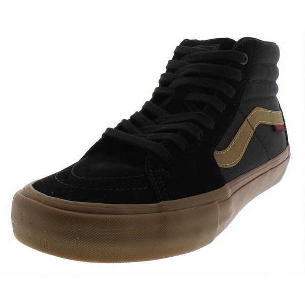 Shop Vans Mens Sk8 Hi Pro Skate Shoes Fashion High Top