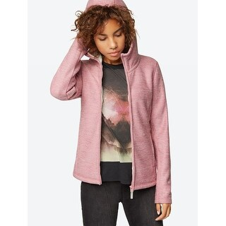 Knitted Fleece Jacket - Pink