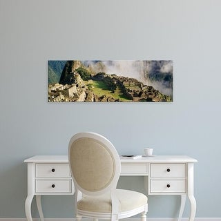 Easy Art Prints Panoramic Images's 'Machu Picchu, Peru' Premium Canvas Art
